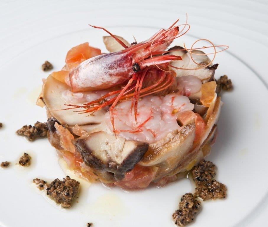 Imatge d'un plat de marisc del Restaurant Ramon