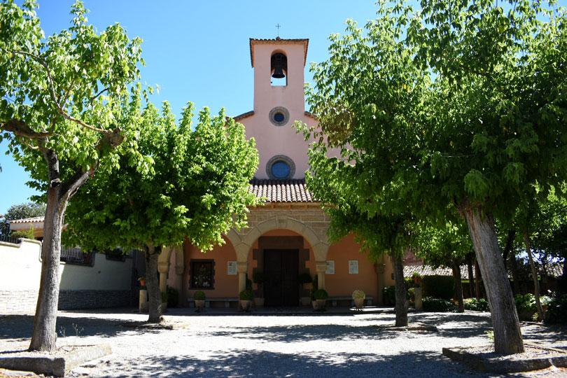Santa Anna esglèsia prop del poligon industrial, Santpedor Ramon Park Hotel